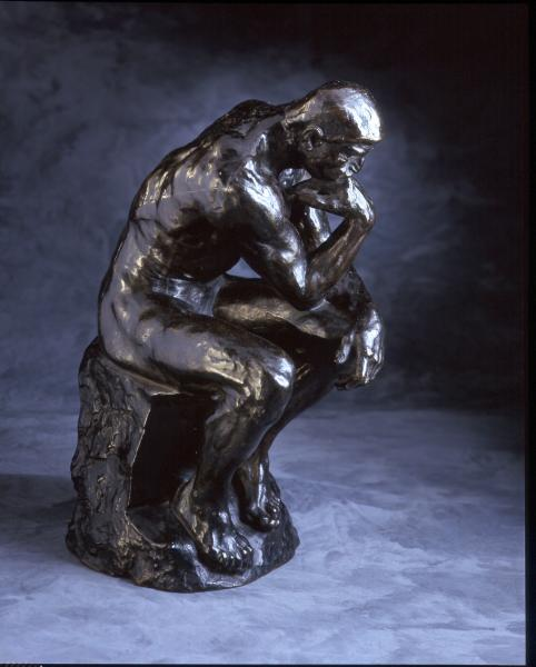 the thinker sculpture by auguste rodin essay Auguste rodin: sculptor  was a milestone in the development of monumental sculpture (auguste, 26) from 1864-65, rodin had been  the thinker (1879–1889) rodin.