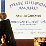 Blue Ribbon Award to Producer Iris Cantor from the American Film Festival, New York City, 1983, for the film Rodin: The Gates of Hell
