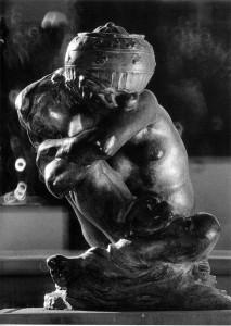 1221 Fallen Caryatid Urn