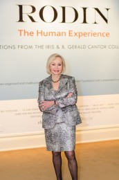 Iris Cantor, President and Chairman of the Cantor Foundation