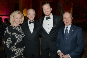 Iris Cantor, Richard DeScherer, Willie Geist, Mayor Bloomberg