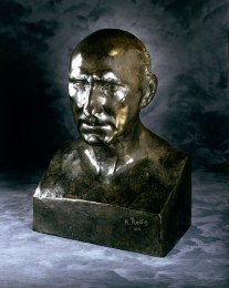 Bust of Jean Baptiste Rodin # 1139 color 600DPI